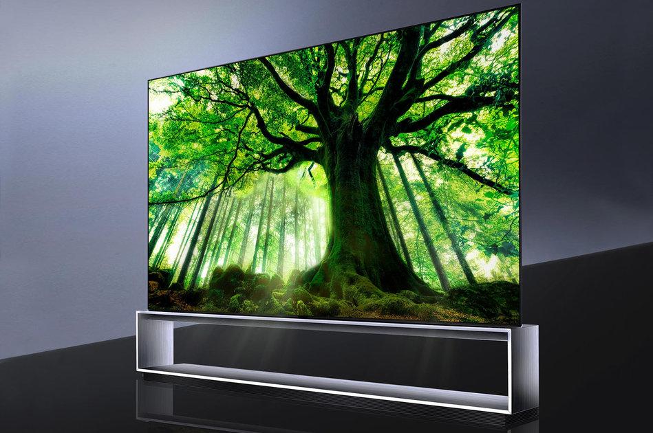 LG 88 inch OLED 8K TV