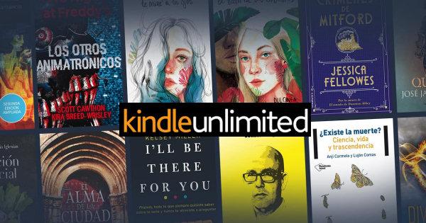 pagina libros Amazon Kindle Unlimited
