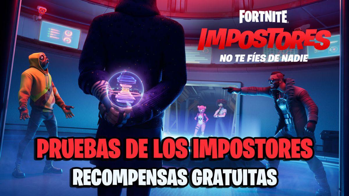 Pruebas De Los Impostores En Fortnite 2021
